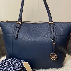 Michael Kors tote and scarf